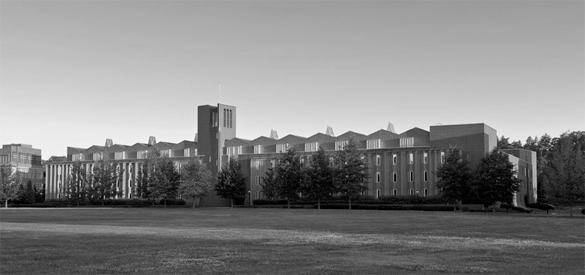 Princeton University, Scully Hall