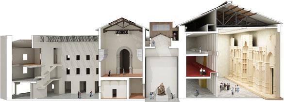 Foto 2 Maqueta de la sección del Museo
