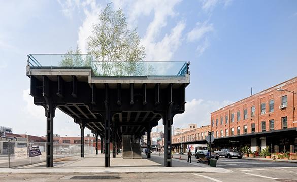 High Line. Inicio de la sección 1