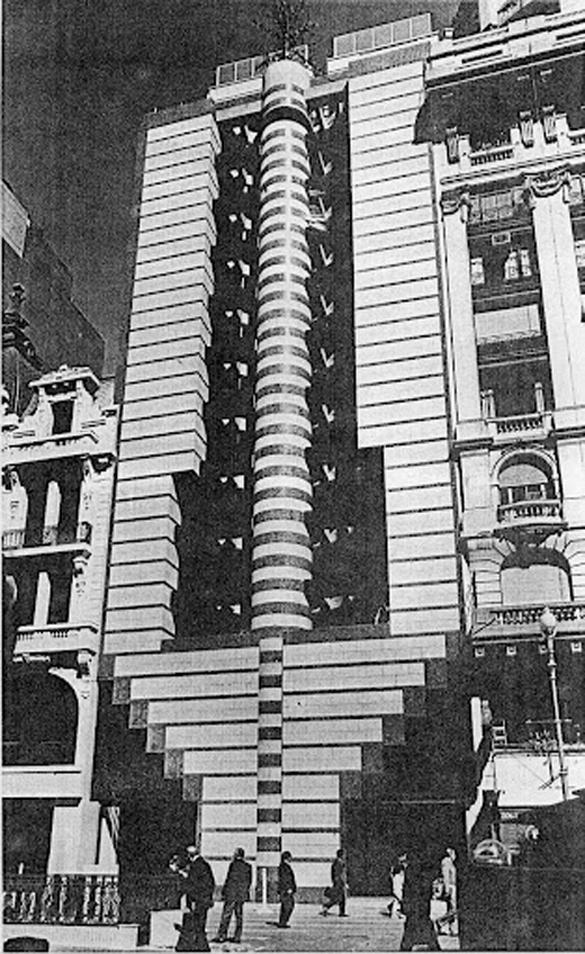 BancaNazionaledelLavoro. Buenos Aires. Mario Botta