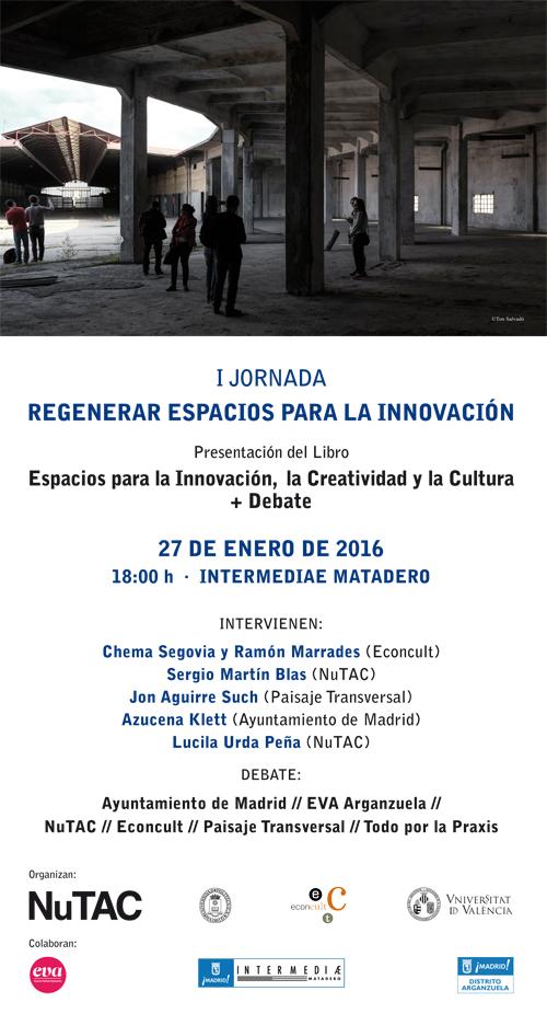Jornada Regenerar Espacios para la Innovación