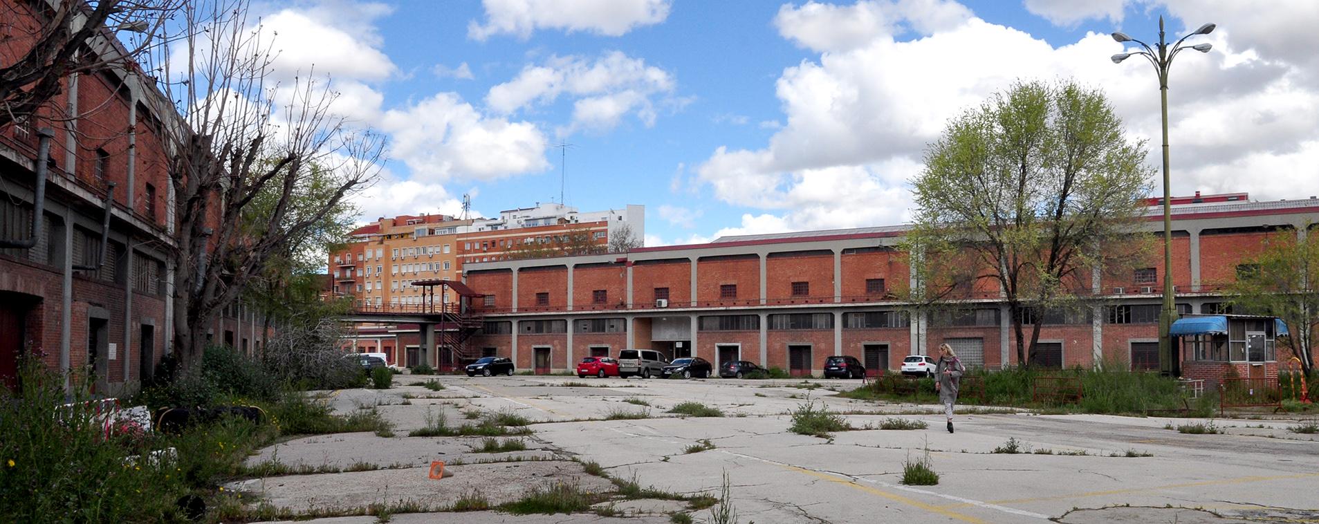 Patio central del Mercado de Legazpi en Madrid (foto de Guiomar Martín)