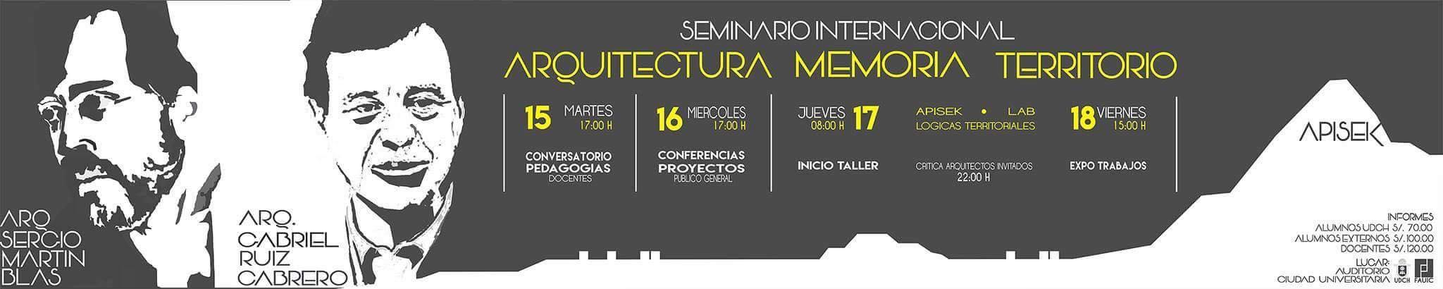 Seminario Arquitectura_Memoria_Territorio