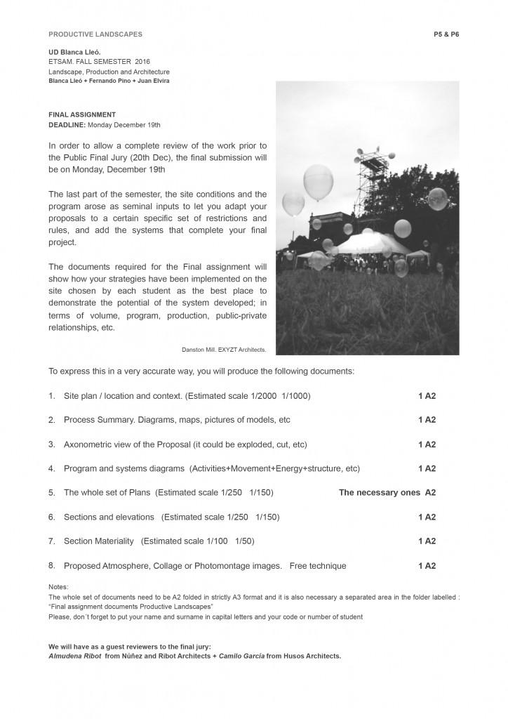 ETSAM Pod Land  Final Assignment