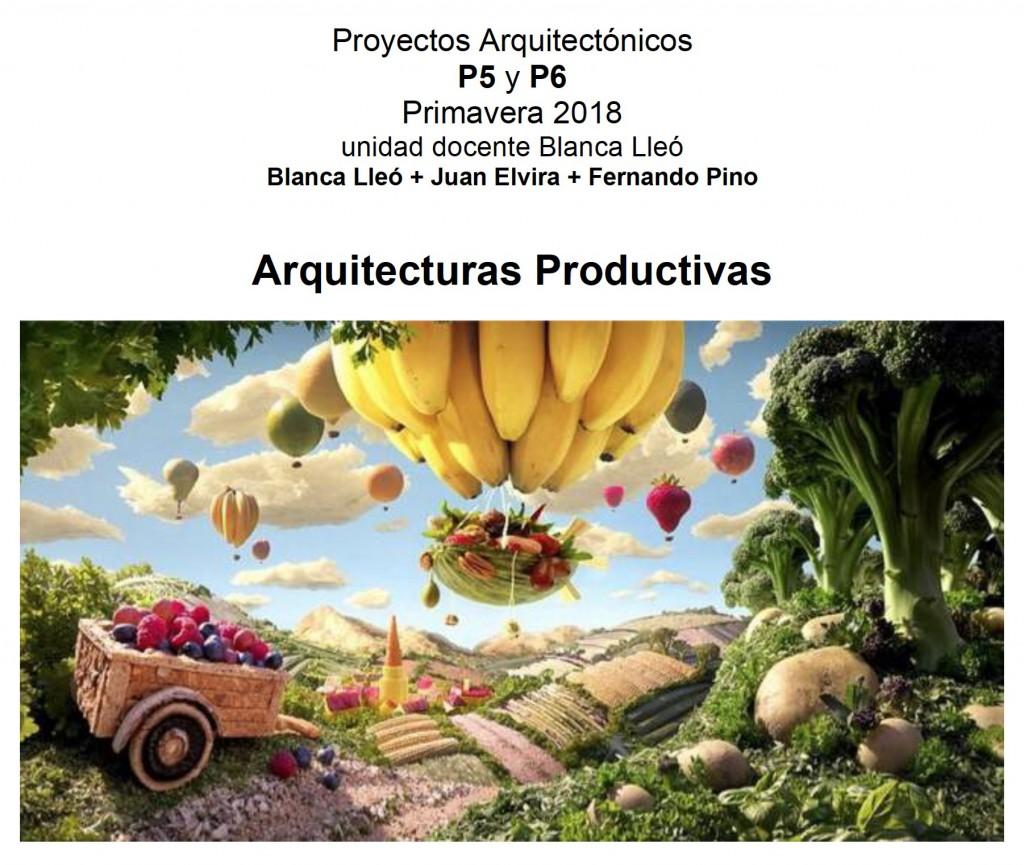 Arquitecturas productivas Image